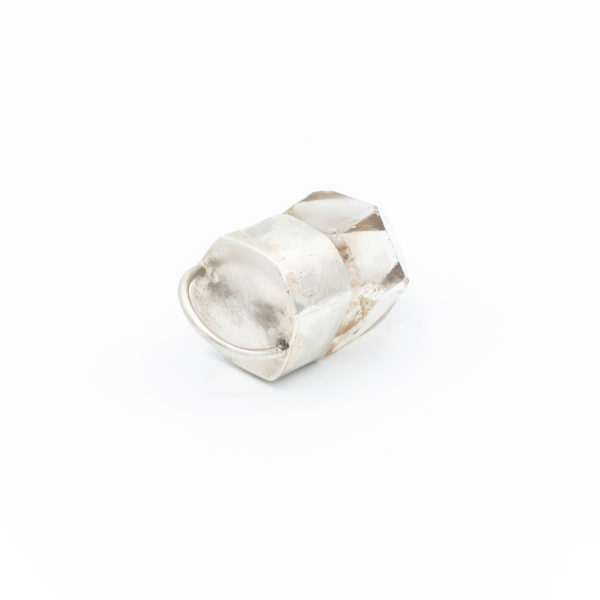 smoky quartz crystal necklace talisman pendant jewelry handmade