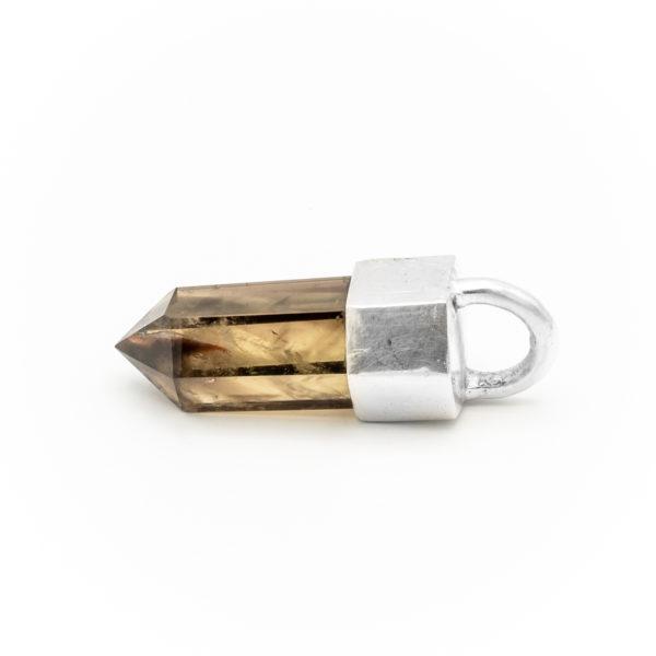 smoky quartz crystal talisman