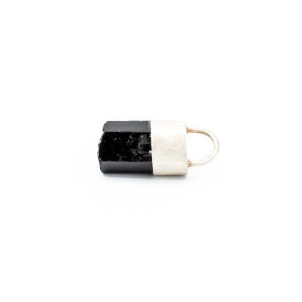 black onyx talisman necklace